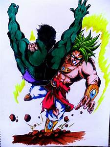 Hulk vs Broly by Chant4Ezkaton2000 on DeviantArt