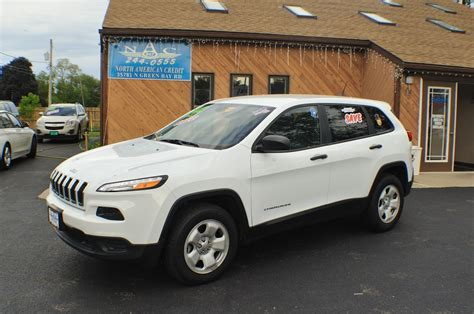 jeep cherokee white 2014 jeep cherokee white 4x4 sport used suv sale