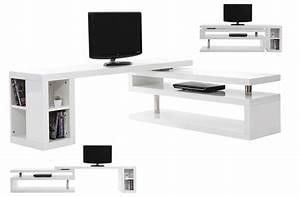 Meuble Tv Design Pas Cher : meuble tv bureau if12 jornalagora ~ Teatrodelosmanantiales.com Idées de Décoration