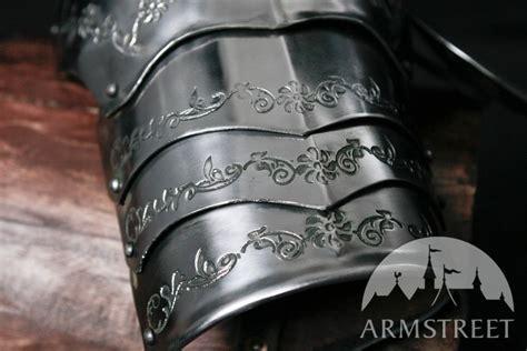 medieval sca handmade armor pauldrons spaulders