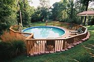 Faux Stone Ideas Above Ground Pool