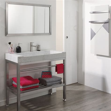 patere inox salle de bain meuble salle de bain inox