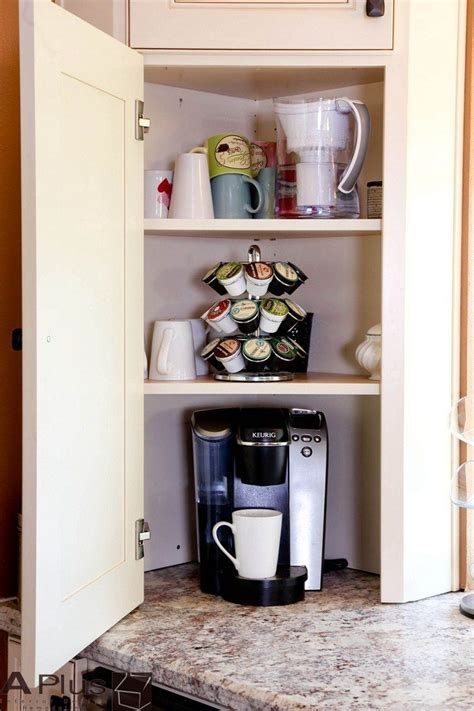 coffee cabinets for kitchen 27 best images about coffee station on pinterest