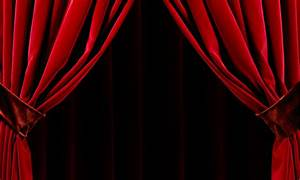 Curtains opening decorate the house with beautiful curtains for Open red curtain background