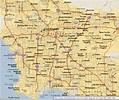 Los Angeles Map - ToursMaps.com