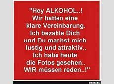 Hey ALKOHOL! Lustige Bilder, Sprüche, Witze, echt lustig