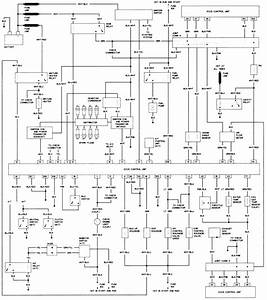 B1453 91 Nissan Pickup Wiring Diagram