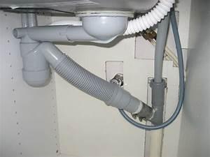 Brancher Un Lave Vaisselle : conseils lave linge siphon evier 13 messages ~ Melissatoandfro.com Idées de Décoration