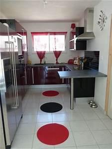 Accessoire Cuisine Design : accessoire cuisine rouge elegant mini cuisine rouge avec accessoires with accessoire cuisine ~ Teatrodelosmanantiales.com Idées de Décoration