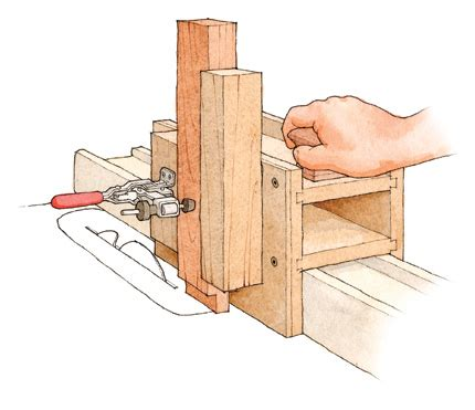 plan    joinery jig   tablesaw