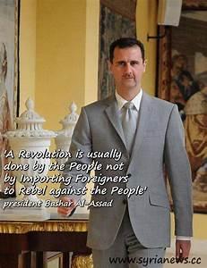 Bashar al-Assad... President Obama Syria Quotes