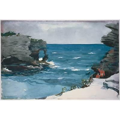 File:Winslow Homer - Rocky Shore Bermuda Google Art