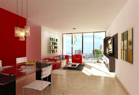 HD wallpapers salas decoradas con muebles rojos