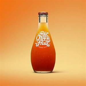 all good organics juice bottle label by luke lucas With juice bottle label design