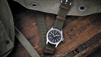 Field Watches Hamilton Mechanical Square Khaki Mile