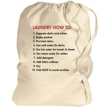 laundry cheat sheet  images canvas laundry bag