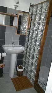 salle de bain With brique verre salle de bain