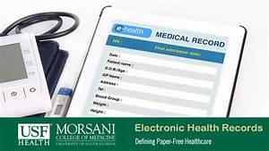 What are Electronic Health Records? | USF Health Online