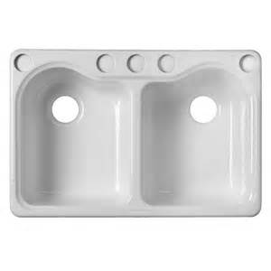 undermount kitchen sink with faucet holes shop kohler hartland 22 in x 33 in white basin cast iron undermount 5 commercial