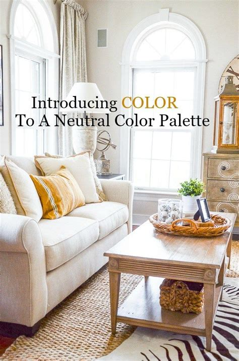Adding Interest To Neutral Decor by Introducing Color To A Neutral Palette Beautiful Living