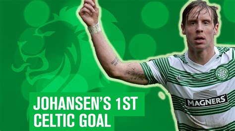 Stefan Johansen Scores First Ever Celtic Goal! Youtube