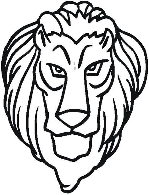 dibujos de leones  colorear  kids page