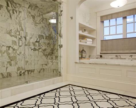 photo marble bathroom design black white undolock ideas