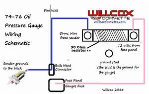89 Corvette Oil Pressure Wiring Diagram