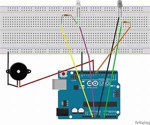 Learn Through Example   Arduino Burglar Alarm Using Infrared Emitter