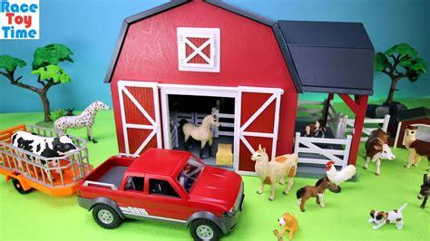 Farm Barn Terra Playset With Fun Animals Toys For Kids