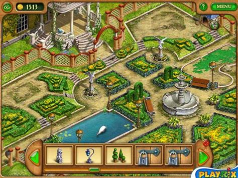 gardenscapes gameplay   gamesozzoom games