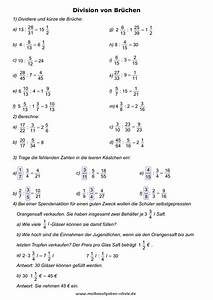 Brüche Berechnen : bruchrechnen lernen mathe bungsbl tter ~ Themetempest.com Abrechnung