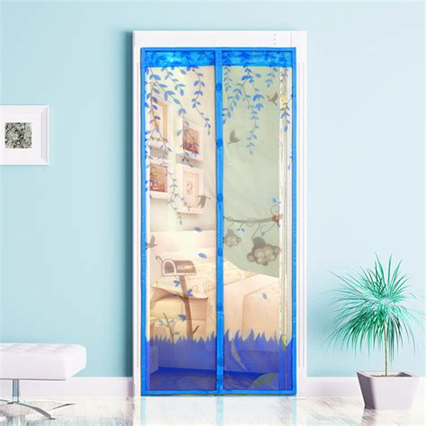 New Magnetic Mesh Screen Door Mosquito Net Curtain Protect