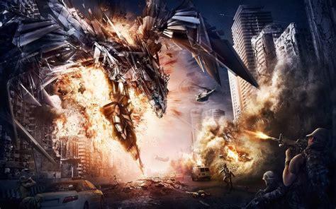Transformers Movie Fight Scene Wallpaper  Best Hd Wallpapers