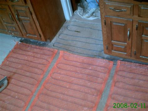 Heated Bathroom Floor Systems Impressive Bathroom Floor Heating Mats Pertainingto