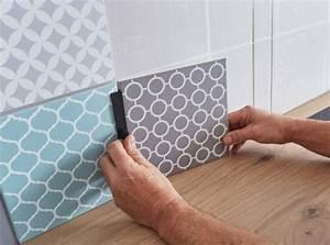 Dalle Pvc Sur Carrelage : dalle pvc adhesive sur carrelage maison design ~ Dailycaller-alerts.com Idées de Décoration