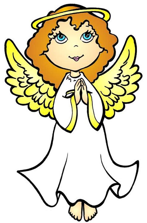 cartoon pictures  angels clipart