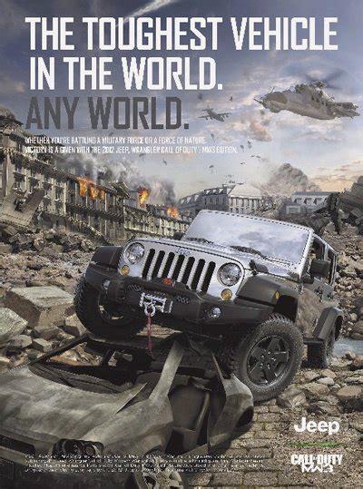 video jeep wrangler call  duty mw video contest