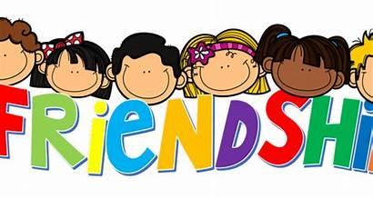 Friendship Friends Clipart Pink Wear Transparent Month