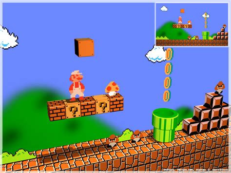 Awesome Super Mario Inspired Wallpapers And Artwork 1