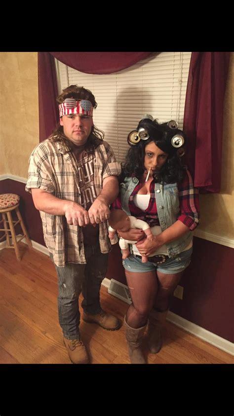 foto de DIY Hillbilly couple costume Couples costumes Halloween