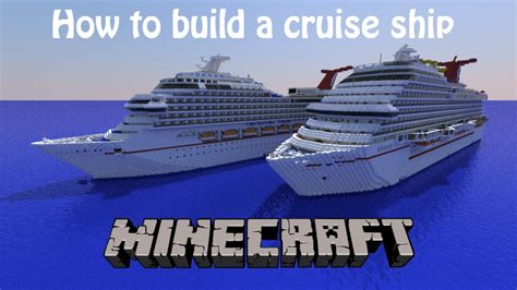 How To Build A Cruise Ship In Minecraft! Part 12- Decks 1 And 2! *READ VIDEO DESCRIPTION* - YouTube
