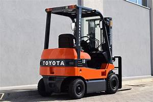 Used Toyota 7fb18 Electric Forklift - 2674