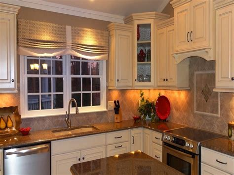Curtain Design For Kitchen Window Home Intuitive