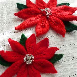 christmas flower by soles knitting pattern