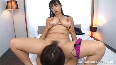 Hana Haruna In Busty Nippon Mom Goes On Top Hd From