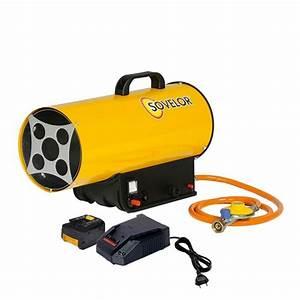 Chauffage Avec Bouteille De Gaz : chauffage mobile au gaz air puls et allumage manuel ~ Dailycaller-alerts.com Idées de Décoration