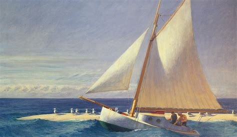 Sailing Boat Art by Sailing Boat Painting By Edward Hopper
