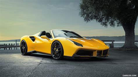 540c Hd Picture by 2017 Novitec Rosso 488 Spider Front Three