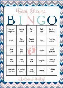 46 Best Baby Shower Bingo Images On Pinterest